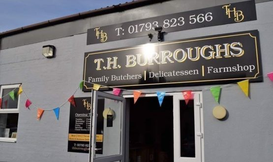 t.h.burroughs family butcher swindon